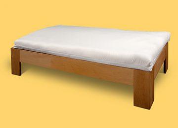 Матрак Дес - 10 см, с пълнеж обвивки спелта или просо