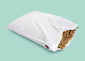 """Възглавница за сън """"Спелта"""" с обвивки на жито спелта"""